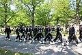 Lippujuhlan päivän paraati 2013 08 Merisotakoulun ohimarssi.JPG