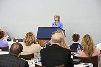 Lisa Murkowski speaking in Rhode Island - 2019 03.jpg