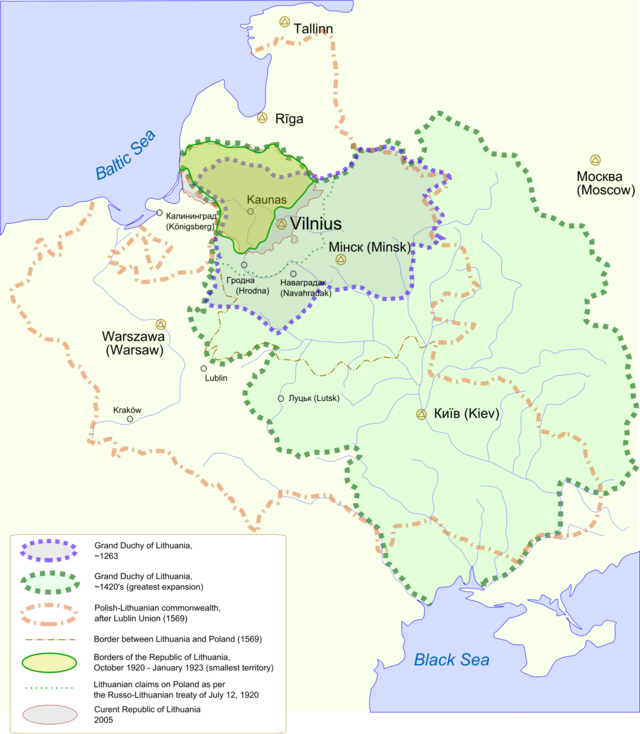 Lithuania proper wikiwand part of a series on the history of lithuania gumiabroncs Gallery