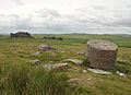 Little Trowlesworthy Tor and cylinder.jpg