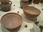 Little world, Aichi prefecture - Main exhibition hall - Potteries for measurement - Quechua people, Perú.jpg