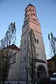 Ljubljana - cerkev sv. Jožefa (zvonik) (7).jpg