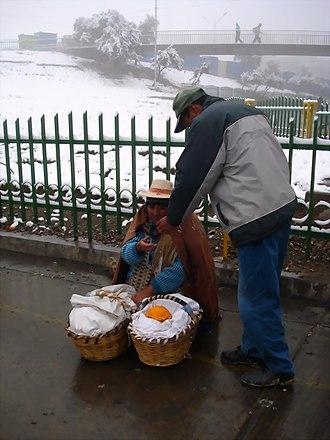El Alto - Winter morning
