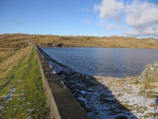 Llyn Teifi dam - geograph.org.uk - 1704109