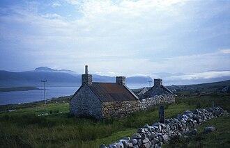 Loch Eriboll - Farmhouse at Loch Eriboll