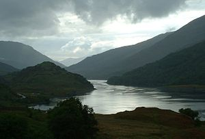 Loch Leven (Highlands) - South side of Loch Leven, looking west.