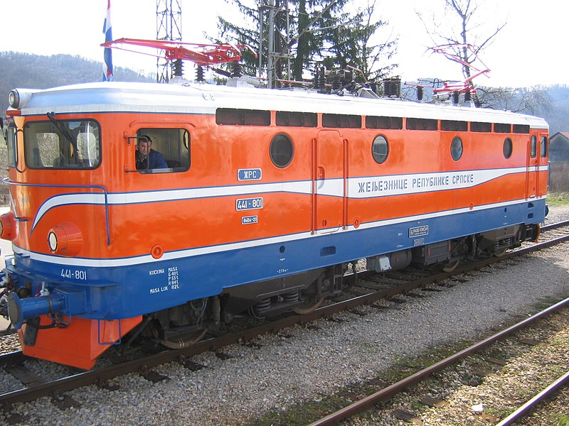 ファイル:Locomotive of Republika Srpska 2009.jpg