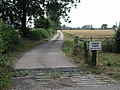 Lodge Farm Gate - geograph.org.uk - 208066.jpg