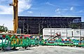 London-Woolwich, Royal Arsenal, Cannon Square - Crossrail Station 21.jpg