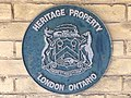 London Heritage Property plaque Banting House.jpg