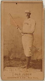 John Reilly (baseball) American baseball player