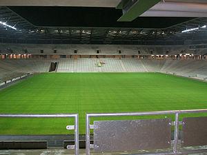 Stadium mk - Image: Lookingatcowshed