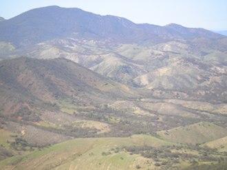 Flinders Ranges - The Flinders Ranges from Devil's Peak