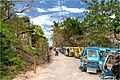 Lot of tricycles on Puka Beach Boracay - panoramio.jpg