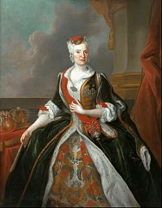 Louis de Silvestre - Portrait of Maria Josepha of Austria - Google Art Project.jpg