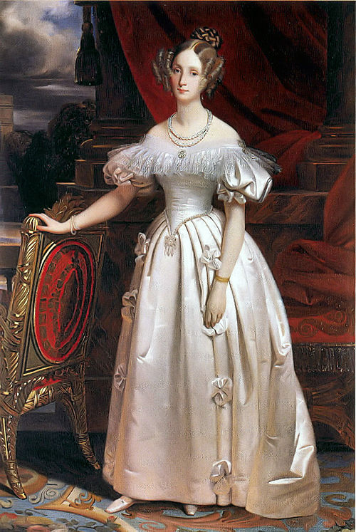 King Leopold I (1790-1865) and Queen Louise-Marie (1812-1850) 500px-Louise_Marie_d%27Orl%C3%A9ans