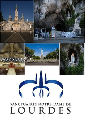 Image illustrative de l'article Sanctuaires de Lourdes