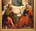 Ludovico mazzolino, madonna in trono tra i ss. andrea e pietro, 1500-20 ca. 05.jpg