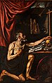 Luis Tristán - St Jerome Doing Penance in his Study - Google Art Project.jpg