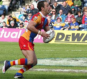 Luke Gale - Gale in action for Harlequins RL