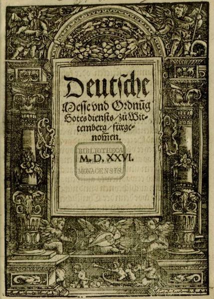 Was Bedeutet Reformation