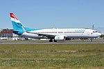 Luxair, LX-LGV, Boeing 737-8C9 (40972747830).jpg