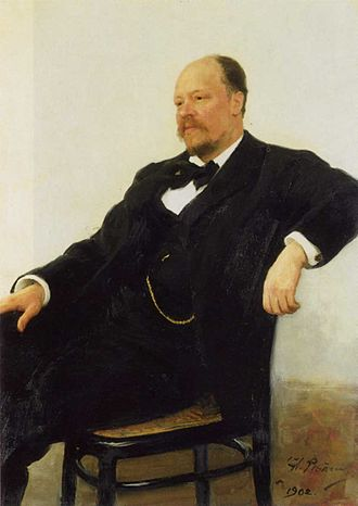 Pyotr Ilyich Tchaikovsky and the Belyayev circle - Anatoly Lyadov as portrayed by Ilya Repin