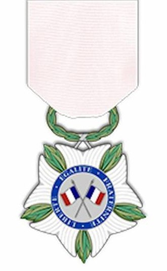National Medal of Recognition for victims of terrorism - Image: Médaille victimes terrorisme avers