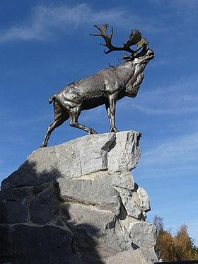 Mémorial terre-neuvien de Beaumont-Hamel - Le caribou