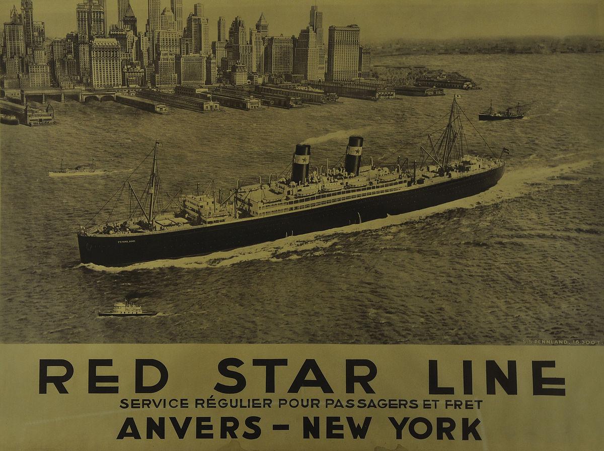 Afbeeldingsresultaat voor red star line