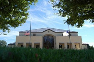 Maranatha Baptist University - Cedarholm Library from the north