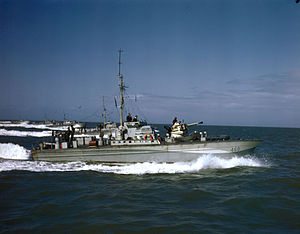 Motor Torpedo Boat - MTB-460 of the Royal Canadian Navy