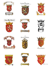 Macedonian historical coats of arms.png