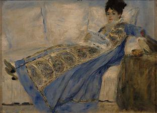 Femme La En Verte Monet Robe dtCsrhQ