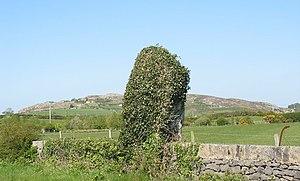 Menhir - Maen Hir Maenaddwyn, Wales