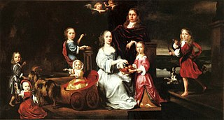 Portrait of the Sykes Family in a Landscape
