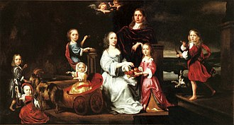 Sykes family of Sledmere - The Sykes family (1664) by Nicolaes Maes, Porczyński Gallery in Warsaw.