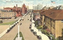 Main Avenue ca. 1920
