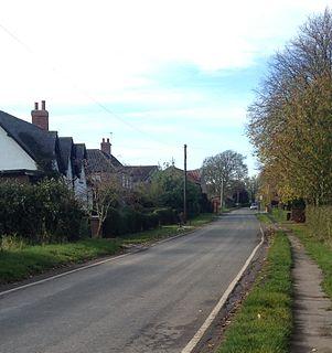 Yokefleet village in United Kingdom