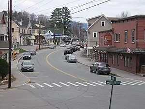 North Woodstock, New Hampshire - Main Street in North Woodstock