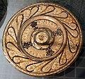 Maiolica ispano-moresca, piatto a lustro, manises, 1490 ca.jpg
