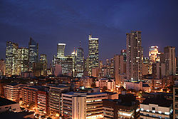 The Makati skyline