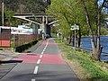 Malá Chuchle, pobřežní cyklostezka A1, Branický most.jpg