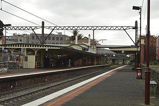 Malvern railway station, Melbourne Railway station in Melbourne, Australia