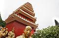 Man Fat Tsz (Ten Thousand Buddhas Monastery) , Pagoda and Arhan statues, Sha Tin, New Territories (Hong Kong).jpg