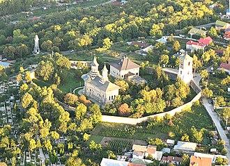 Seven hills of Iași - Image: Manastirea Galata 0