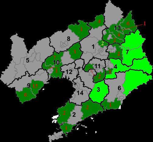 Manchu autonomous regions in Liaoning.png