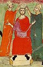 Coronation of Manfred of Sicily