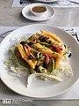 Mango Avocado Almond Salad - The Rogue Elephant, Bangalore - karnataka - DSC 0001.jpg