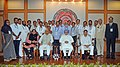 Manmohan Singh with the Awardee Teachers ahead of Teachers' Day, in New Delhi. The Union Minister for Human Resource Development, Dr. M.M. Pallam Raju and the Ministers of State for Human Resource Development (3).jpg